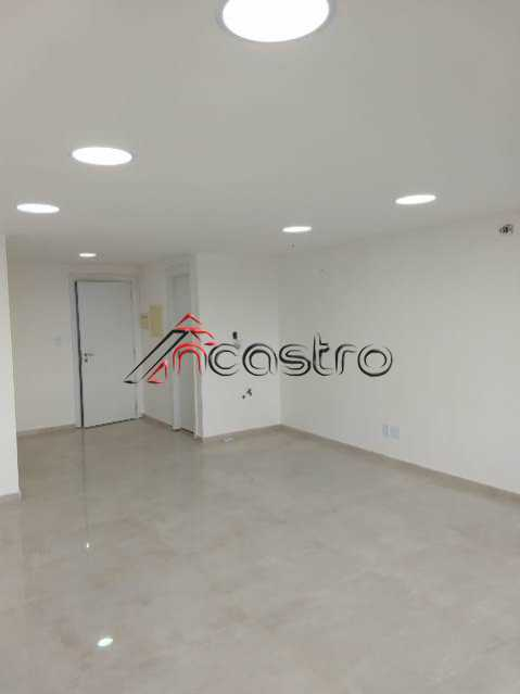 NCastro12. - Sala Comercial 35m² para alugar Avenida Pastor Martin Luther King Jr,Del Castilho, Rio de Janeiro - R$ 1.300 - T1048 - 10