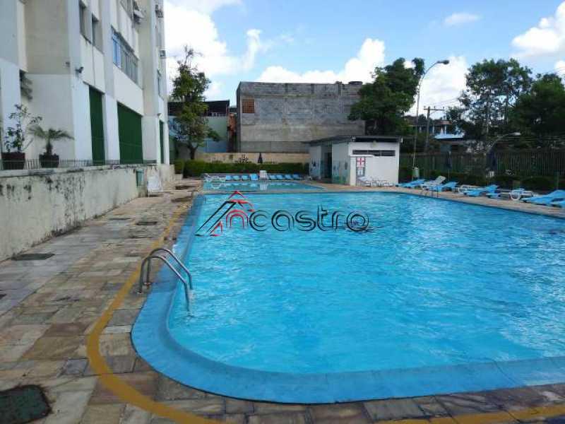 NCastro19. - Apartamento à venda Rua Araújo Leitão,Engenho Novo, Rio de Janeiro - R$ 180.000 - 3073 - 4