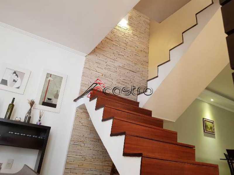 NCastro13. - Casa em Condomínio à venda Rua Comandante Vergueiro da Cruz,Olaria, Rio de Janeiro - R$ 910.000 - M2222 - 13
