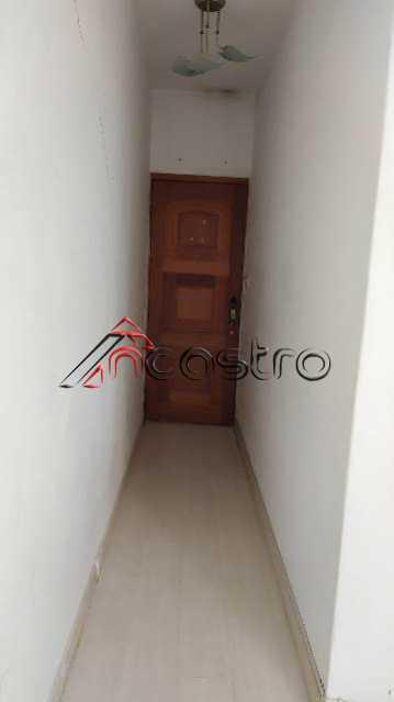 NCastro14. - Apartamento à venda Rua São Francisco Xavier,Tijuca, Rio de Janeiro - R$ 280.000 - 3090 - 1