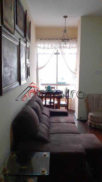NCastro01. - Apartamento à venda Rua São Francisco Xavier,Tijuca, Rio de Janeiro - R$ 380.000 - 2393 - 1