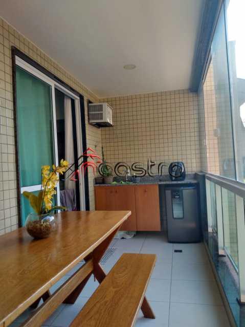 NCastro 1. - Apartamento 2 quartos à venda Zumbi, Rio de Janeiro - R$ 515.000 - 2452 - 1