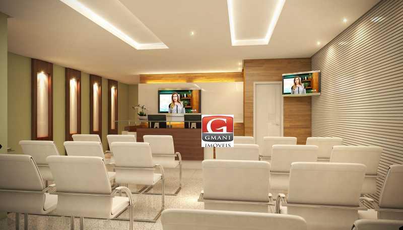 comum-10 - Sala Comercial 32m² à venda Cremação, Belém - R$ 179.000 - MASL00004 - 4