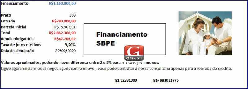 PLANOS DE FINAN CASA TAPAJÓS - Linda Casa com 400m² no Bairro do Marco, desbanca apartamentos no Umarizal. - MACA30004 - 9