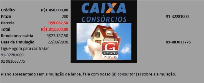 PLANO CONS TAPAJOS 1 - Linda Casa com 400m² no Bairro do Marco, desbanca apartamentos no Umarizal. - MACA30004 - 10