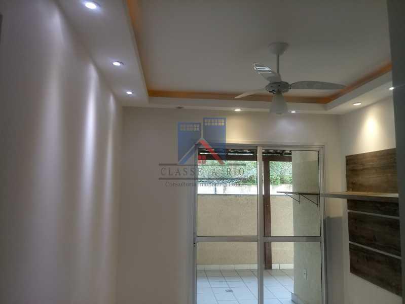 01 - Taquara-Apartamento,2 quartos,suite,armários,lazer,1 vaga de garagem - FRAP20074 - 3