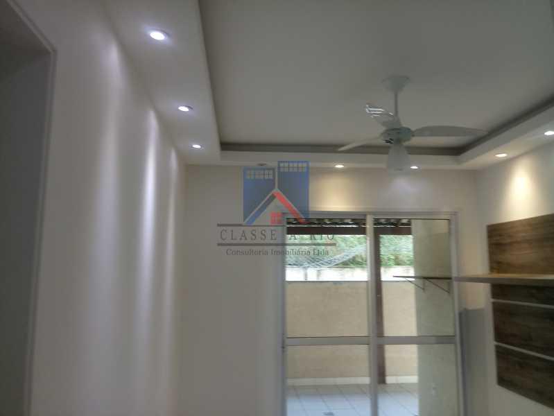 02 - Taquara-Apartamento,2 quartos,suite,armários,lazer,1 vaga de garagem - FRAP20074 - 4