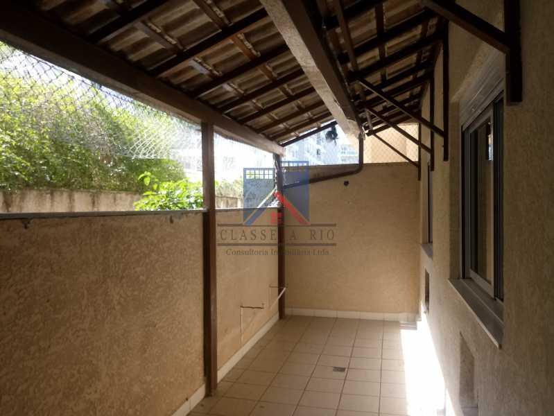 05 - Taquara-Apartamento,2 quartos,suite,armários,lazer,1 vaga de garagem - FRAP20074 - 9