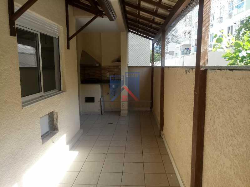 07 - Taquara-Apartamento,2 quartos,suite,armários,lazer,1 vaga de garagem - FRAP20074 - 11