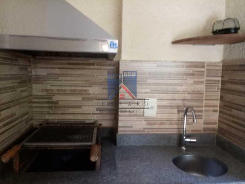 10 - Taquara-Apartamento,2 quartos,suite,armários,lazer,1 vaga de garagem - FRAP20074 - 12