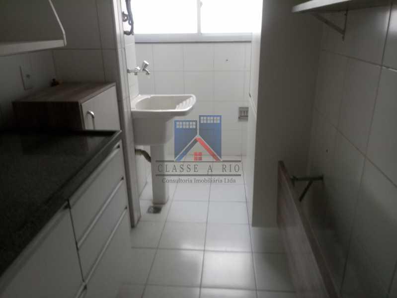 23 - Taquara-Apartamento,2 quartos,suite,armários,lazer,1 vaga de garagem - FRAP20074 - 24