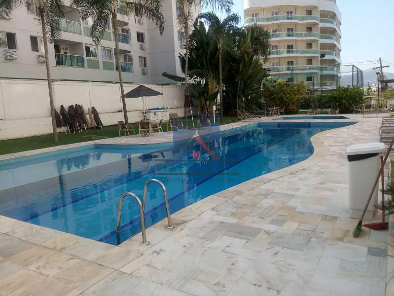 30 - Taquara-Apartamento,2 quartos,suite,armários,lazer,1 vaga de garagem - FRAP20074 - 28