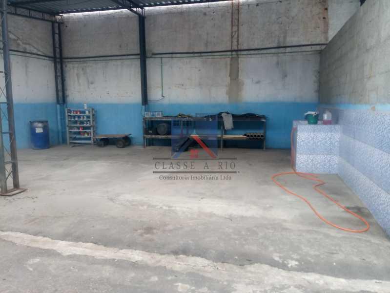 16 - GALPÃO - Rocha Miranda 980m2 área construída com escritórios, refeitório, copa cozinha, banheiros, vestiários, oficina ..... - FRGA00001 - 5