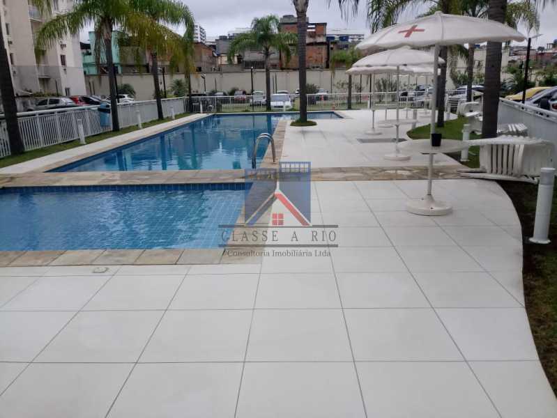 08 - Norte Shopping-Apartamento 03 quartos, suite, vaga de garagem, lazer completo - FRAP30042 - 4