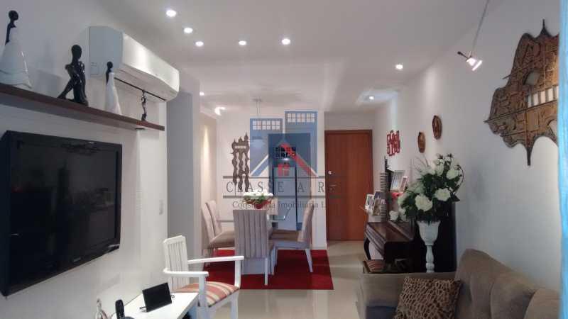 05 - Freguesia, Amplo apartamento 94m², 03 quartos, 02 suites, 02 vagas de garagem. Infraestrutura de lazer - FRAP30043 - 7