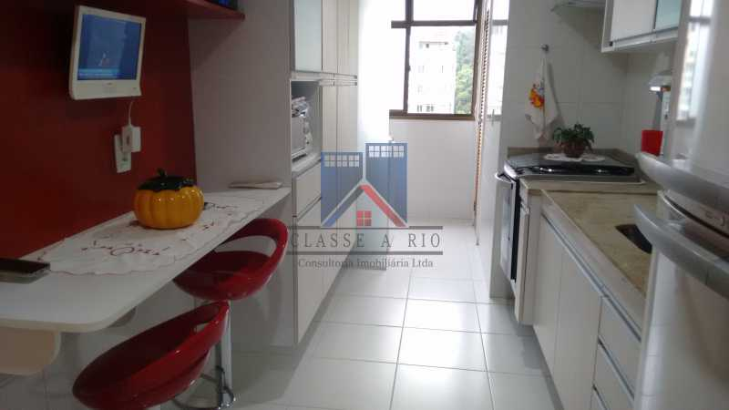 18 - Freguesia, Amplo apartamento 94m², 03 quartos, 02 suites, 02 vagas de garagem. Infraestrutura de lazer - FRAP30043 - 24