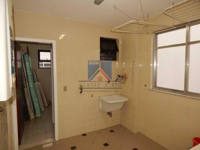 area de serviço - Recreio - Cobertura 4 quartos 2 suítes - 177m2 - FRCO40003 - 15