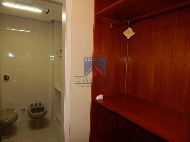 closet e banheiro da suite cas - Recreio - Cobertura 4 quartos 2 suítes - 177m2 - FRCO40003 - 9