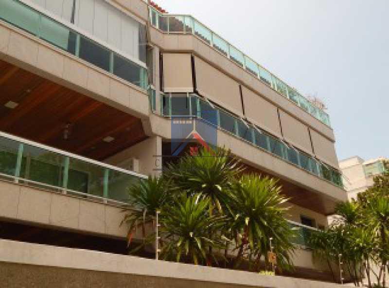 fachada ap da GA - Recreio - Cobertura 4 quartos 2 suítes - 177m2 - FRCO40003 - 1