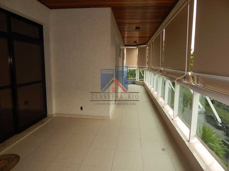 varanda de frente para a GA - Recreio - Cobertura 4 quartos 2 suítes - 177m2 - FRCO40003 - 3