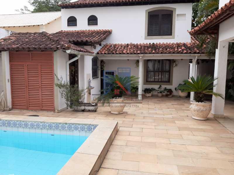 04 - Pechincha - Casa Condomínio - Magnífica - 3 quartos - súíte - Anexo - Piscina. - FRCN30041 - 5
