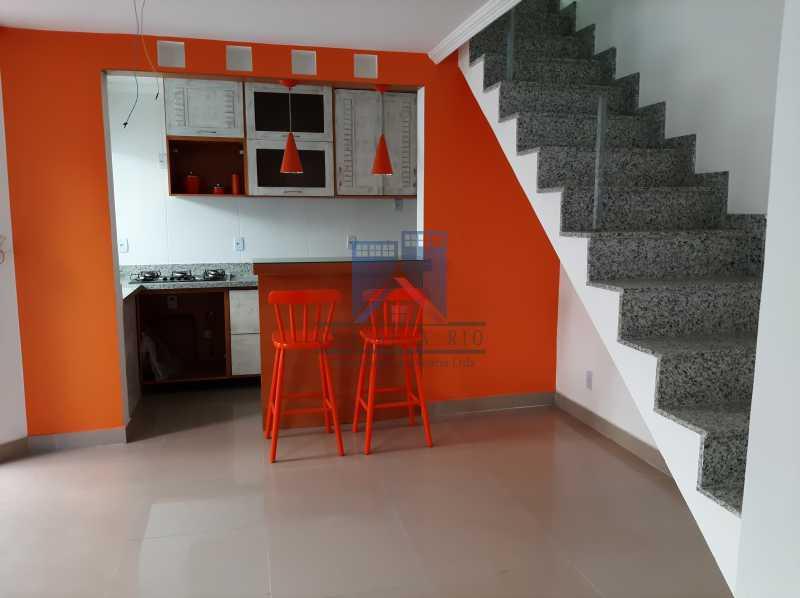 5 - Taquara - casa em condomínio fino acabamento - decorada. - FRCN40043 - 4