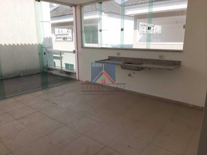 23 - Taquara - casa em condomínio fino acabamento - decorada. - FRCN40043 - 22