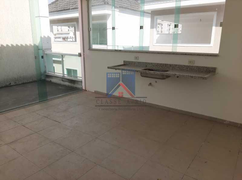 24 - Taquara - casa em condomínio fino acabamento - decorada. - FRCN40043 - 23