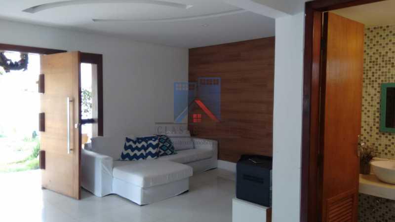 1 - Anil-Casa Duplex, Terreno 740 Metros Plano, Salão 03 Ambientes, Porcelanato, 04 Quartos Suites,Lazer, 04 Vagas de Garagem. Otima Localização - FRCA40007 - 9