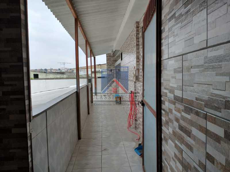 28 - PAVUNA - PRÓXIMO AO METRO - 02 CASAS COM GARAGEM - FRCA40008 - 7