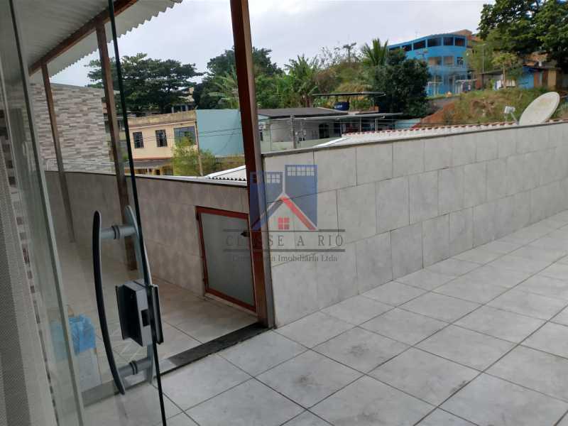 30 - PAVUNA - PRÓXIMO AO METRO - 02 CASAS COM GARAGEM - FRCA40008 - 1