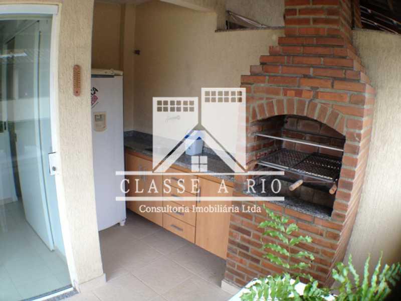 Churrasqueira - Casa em Condomínio 3 quartos à venda Taquara, Rio de Janeiro - R$ 420.000 - FRCN30012 - 5