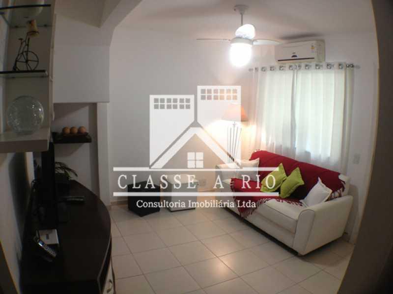Sala - Casa em Condomínio 3 quartos à venda Taquara, Rio de Janeiro - R$ 420.000 - FRCN30012 - 7
