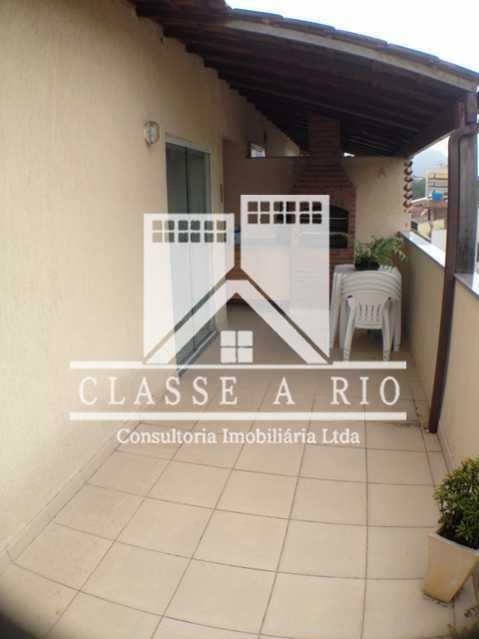 Terraço - Casa em Condomínio 3 quartos à venda Taquara, Rio de Janeiro - R$ 420.000 - FRCN30012 - 4