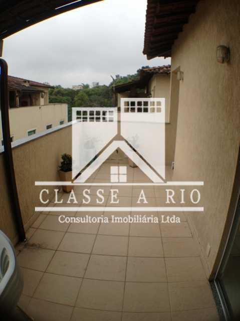 Terraço_3 - Casa em Condomínio 3 quartos à venda Taquara, Rio de Janeiro - R$ 420.000 - FRCN30012 - 1