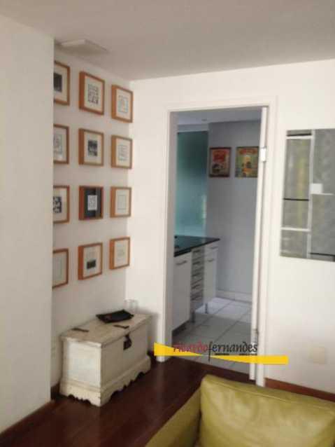 hall sala - Apartamento à venda Rua Mário Faustino,Rio de Janeiro,RJ - R$ 750.000 - RFAP20006 - 6