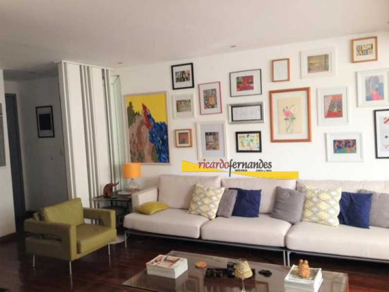 sala - Apartamento à venda Rua Mário Faustino,Rio de Janeiro,RJ - R$ 750.000 - RFAP20006 - 4