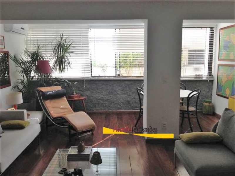 sala1 - Apartamento à venda Rua Mário Faustino,Rio de Janeiro,RJ - R$ 750.000 - RFAP20006 - 1