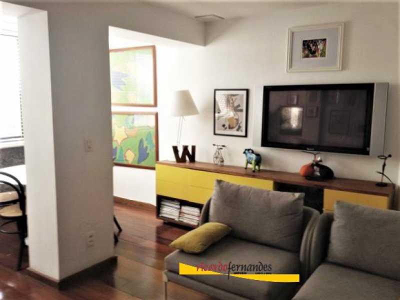 sala2 - Apartamento à venda Rua Mário Faustino,Rio de Janeiro,RJ - R$ 750.000 - RFAP20006 - 3