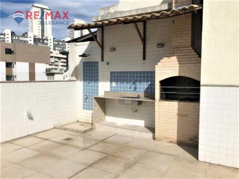 Churrasq. - Apartamento à venda Rua General Polidoro,Rio de Janeiro,RJ - R$ 800.000 - RFAP20012 - 12