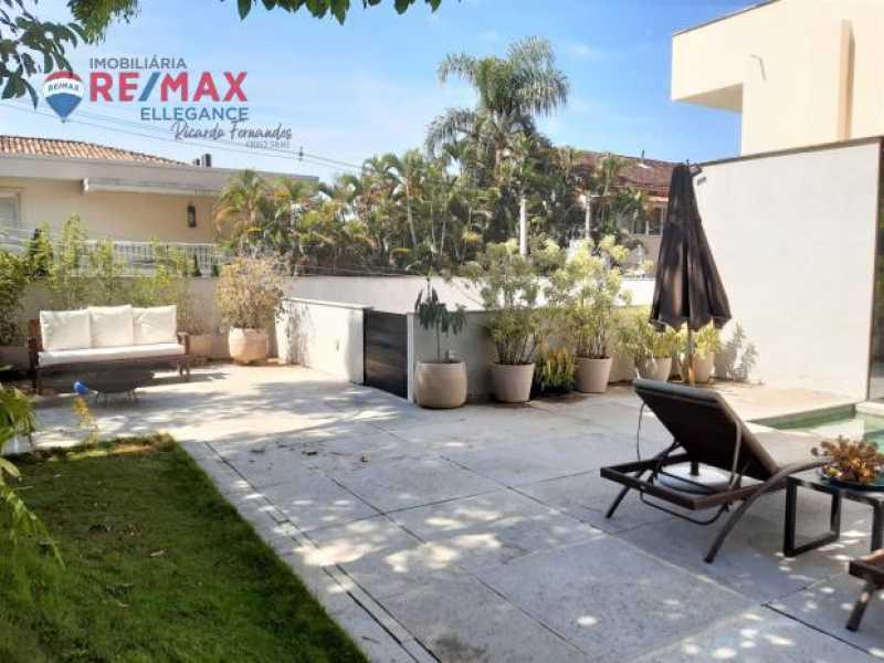 Piscina 4. - Casa Alto Jardim Botânico. 342,00 m² - RFCA10001 - 6