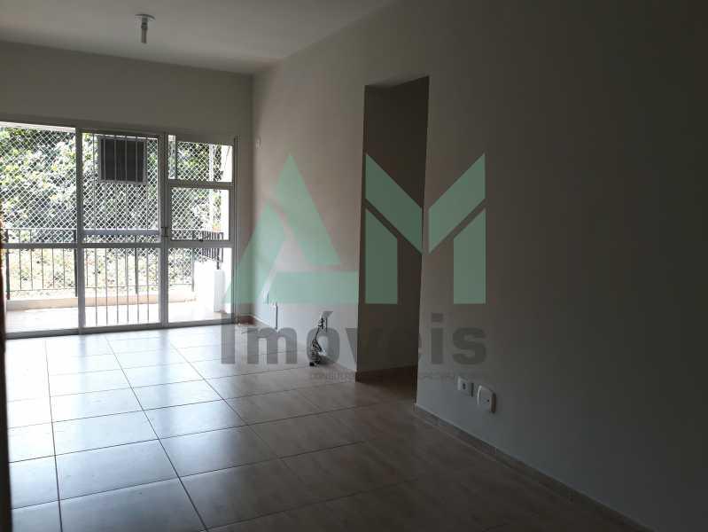 Sala - Apartamento Para Alugar - Tijuca - Rio de Janeiro - RJ - 1115 - 7