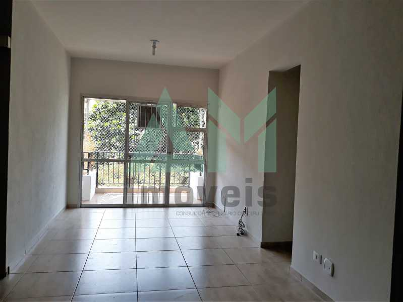 Sala - Apartamento Para Alugar - Tijuca - Rio de Janeiro - RJ - 1115 - 3