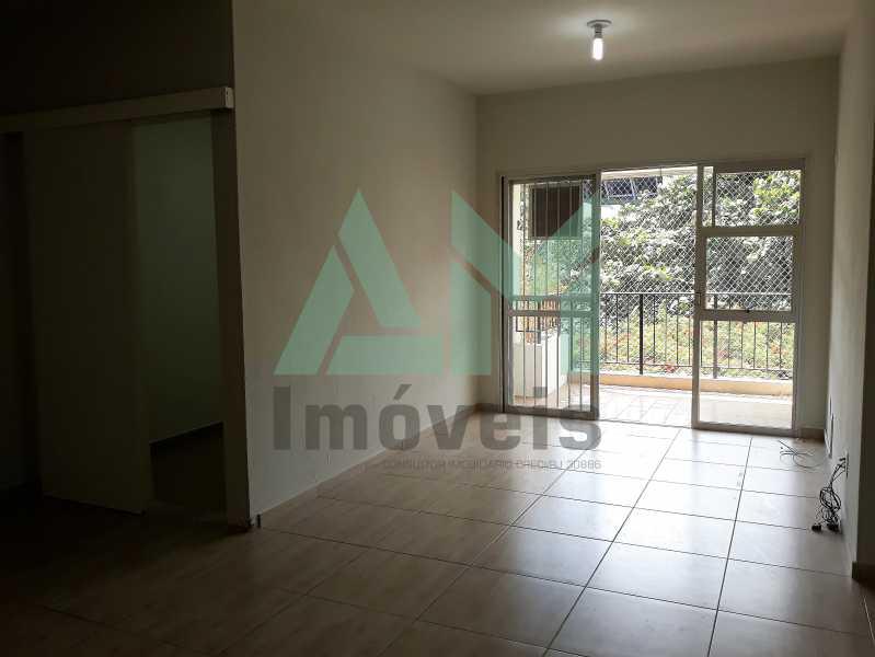 Sala - Apartamento Para Alugar - Tijuca - Rio de Janeiro - RJ - 1115 - 5