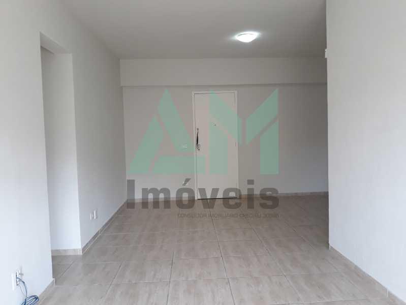 Sala - Apartamento Para Alugar - Tijuca - Rio de Janeiro - RJ - 1115 - 4