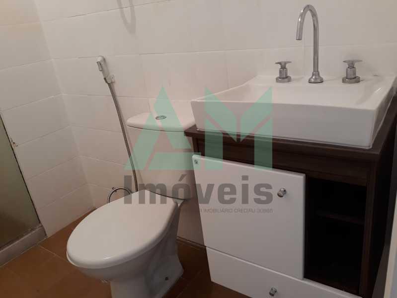 Banheiro Social - Apartamento Para Alugar - Tijuca - Rio de Janeiro - RJ - 1115 - 12