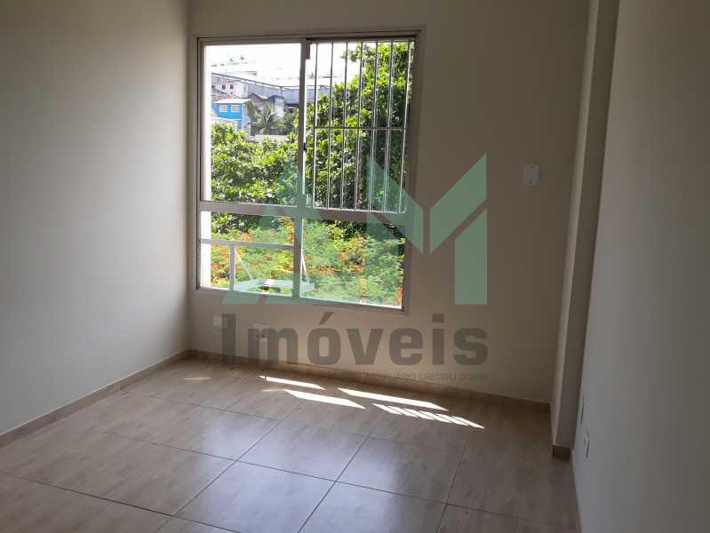 Quarto - Apartamento Para Alugar - Tijuca - Rio de Janeiro - RJ - 1115 - 9