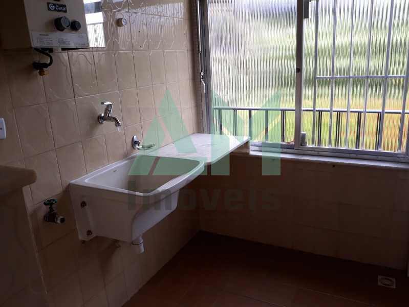 Área de Serviço - Apartamento Para Alugar - Tijuca - Rio de Janeiro - RJ - 1115 - 16