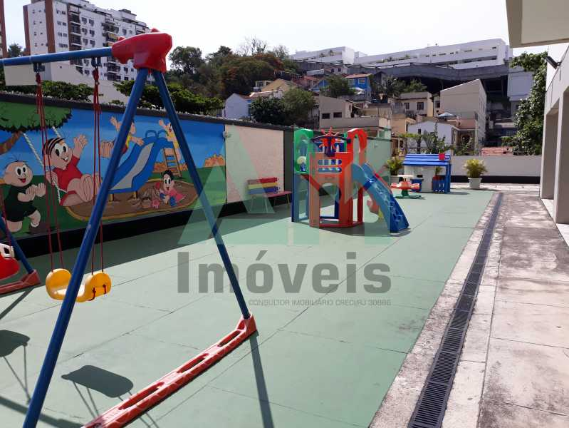 Parquinho Infatil - Apartamento Para Alugar - Tijuca - Rio de Janeiro - RJ - 1115 - 18