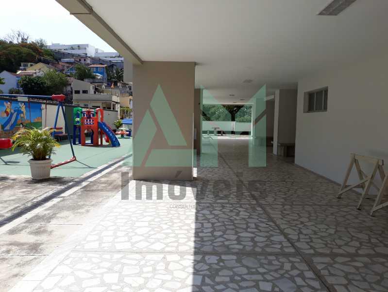 Área de Lazer (Play) - Apartamento Para Alugar - Tijuca - Rio de Janeiro - RJ - 1115 - 19